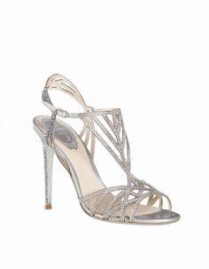 Collezione scarpe Renè Caovilla Primavera Estate 2016 - Sandali argento Renè Caovilla