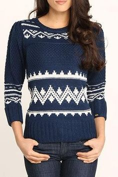 A cozy sweater that definitely hints of the oncoming cold season!