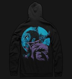 Seventh.Ink Shirts and Apparel | Lament of the Vampyre Pullover Hoody