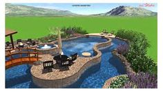 Calvary Custom Pools Lazy River Design - YouTube