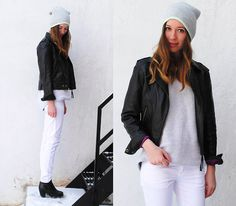 White is for Winter (by Gabrielle L.) http://lookbook.nu/look/4559555-White-is-for-Winter