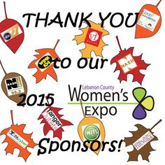Thank you to our 2015 Lebanon County Women's Expo sponsors!
