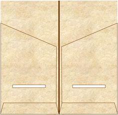 Make your own Midori Traveler's Notebook kraft file