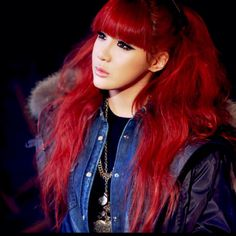 Anyone else remember Park Bom from 2NE1's amazing red hair?