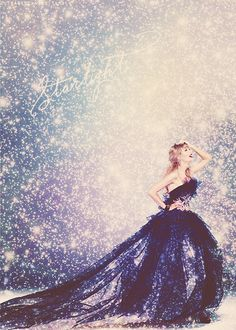 She's no Ellie Goulding but Taylor seems to be starry eyed!