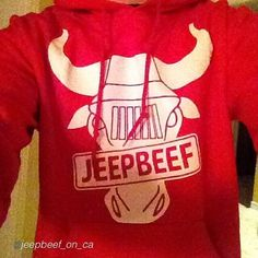 """Representing #JeepBeef _________________________________ by @jeepbeef_on_ca """"REPPING THE BEEF SWEATER!! It's sweater weather!! Wowho! @love_more_with_your_heart""""  __________________________________ Order your JeepBeef Apparel today at www.JeepBeef.com #Padgram"""