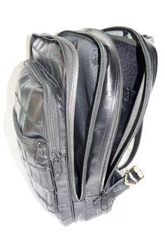 9cdbcea77d mochila unissex 100% em couro legítimo. para dia a dia