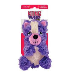 LARGE KONG HUGGZ SKUNK DOG TOY - BD Luxe Dogs & Supplies