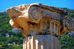 Ionic Column, Ephesus - Ancient Ionia