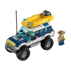 Best Lego Sets, Lego City Police, All Lego, Dinghy, Outboard Motors, Building Toys, Legos, 4x4, Jeep