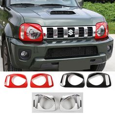 Find More Lamp Hoods Information about New Designs Red Black Chrome ABS Angry Birds Headlight Headlamp Cover Front Head Light Lamp Cover Trim for Suzuki Jimny 07 up,High Quality trim coffee,China trim pattern Suppliers, Cheap lamp parchment from Mopai Auto Accessories on Aliexpress.com