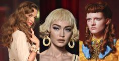 tendance coiffure de l'été 2017 : le brushing vintage, coiffure 20's, coiffure 50's pin up