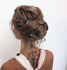 30 Incredible Hairstyles for Thin Hair French Twist Hochsteckfrisur !