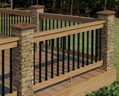 50 deck railing ideas for your home (44)