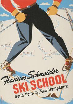 Ski school #ski #retro #vintage
