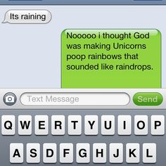 sarcastic humor . . . I feel like I should make this my comment for every facebook post when it rains...