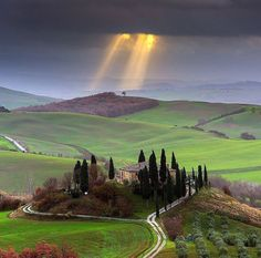 San Quirico d'Orcia Toscana, Italy. Photo by Michele Rossetti
