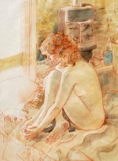 Studio nude, 1989. William Boissevain