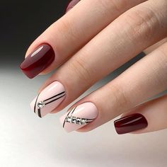 56 Stunning Nail Art Designs for Short Acrylic Nails - Page 16 of 56 - TipSilo Latest Nail Designs, Nail Art Designs Videos, Best Nail Art Designs, Short Nail Designs, Elegant Nail Designs, Diy Nails, Cute Nails, Pretty Nails, Design Ongles Courts