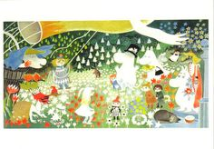 Moomin notebook.