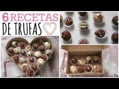 Haz Trufas de Chocolate ❤ 6 Recetas Fáciles - YouTube