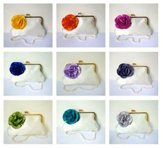 Customize Your Bridesmaid Gift or Clutch Purse All by tbtcwedding, $50.00