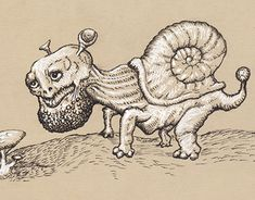 """Check out new work on my @Behance portfolio: """"Creatures"""" http://be.net/gallery/62117943/Creatures"""