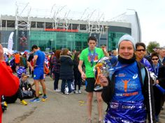Manchester marathon - flat course but a hard run for me.  Huge medal makes it all worth it! Blog at http://wp.me/p35vBf-sf