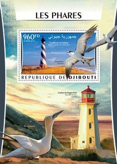 Lighthouses (The lighthouse at Cape Hatteras Buxton, North Carolina, UAE;