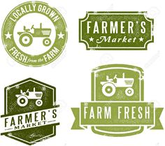 Vintage Style Farmers Market Stamps Royalty Free Cliparts, Vectors, And Stock Illustration. Pic 13846304.