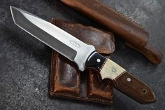 CFK USA Custom Handmade D2 Battle Raptor Tanto Tactical Micarta Bone Horn Knife | eBay