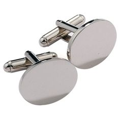 Personalised Initial Cufflinks with Engraved Case  from Personalised Gifts Shop - ONLY £19.95