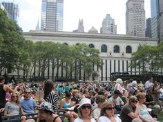Free!  Broadway in Bryant Park