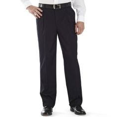 Stafford® Year-Round Pleated Pants   found at @JCPenney