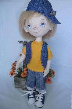 Купить Кукла Антон - кукла ручной работы, интерьерная кукла, коллекционная кукла, кукла в подарок