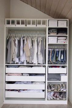 Uniform hangers: http://www.stylemepretty.com/living/2015/03/17/10-ways-to-get-organized/