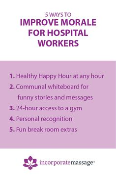 Looking to treat the nurses and doctors at your facility. Maybe you've got Nurses Week coming up. In this article we give you 5 ideas for treating hospital workers. Employee Morale, Staff Morale, Funny Nurse Quotes, Nurse Humor, Nursing Memes, Funny Nursing, Nursing Quotes, Morale Boosters, Happy Nurses Week