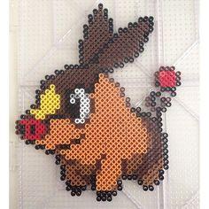 Tepig Pokemon perler beads by  perlerdev