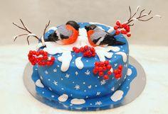 Торт Снегири - Кондитерская - Babyblog.ru