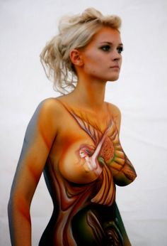 Bodypainting on Pinterest  15 Pins