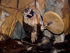 Shamans Drum to Ask Spirits to Leave Sick Bodies, Kamchatka, Russia