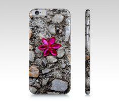 "iPhone+6+/+6S+""Bead+Flower+on+Stones""+by+Karen+Kammermann"