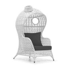Kaya Club Chair White
