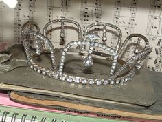 Vintage Wedding Tiara ca. 1950's