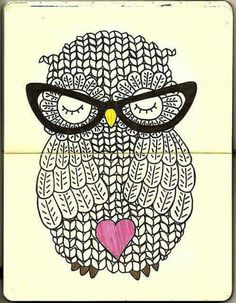 Art Love Owl