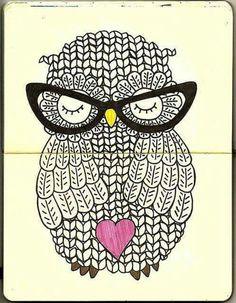 Art Love Owl