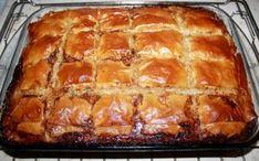 Receta riquisima de este delicioso pastel de carne con masa filo de carne molida.