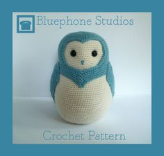 Crochet Pattern: Alistar the Barn Owl.  $5.00 for pattern 6/14.