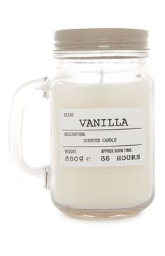 Vanilla mason jar candle from Primark!