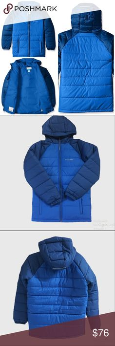 *NWOT* Columbia Tree Time Puffer Jacket Bought last winter for the one cold day we had here in Tennessee. Thought we would get snow but didn't!! Lol. Never wore. Now it's to small for my son. Color is called Super Blue. Columbia Jackets & Coats Puffers